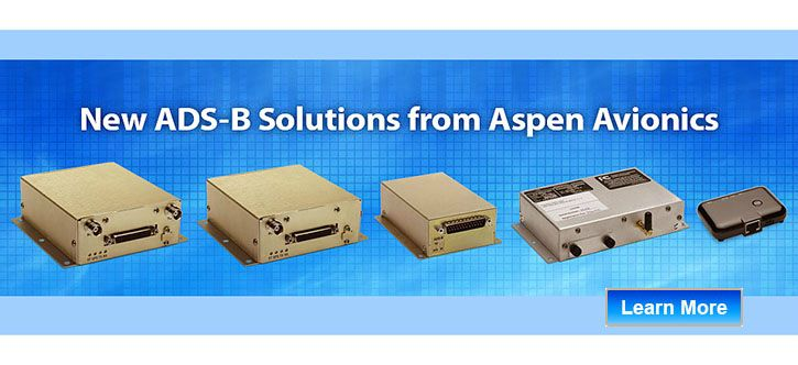 Aspen ADS-B equipment interfaces