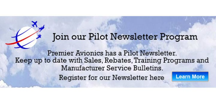Join our Pilot Newsletter Program to keep up-to-date with Avionics information and changes.